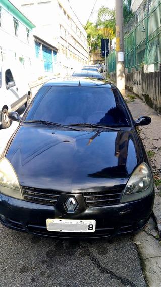 Renault Clio Previlege 1.6 Preto - 2007