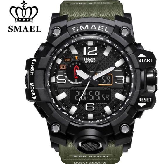 Relógio Masculino Smael 1545 Militar G-shock Prova D