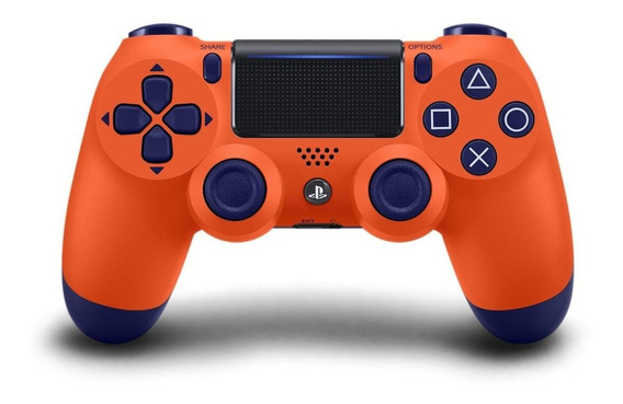 Joystick inalámbrico Sony Dualshock 4 sunset orange