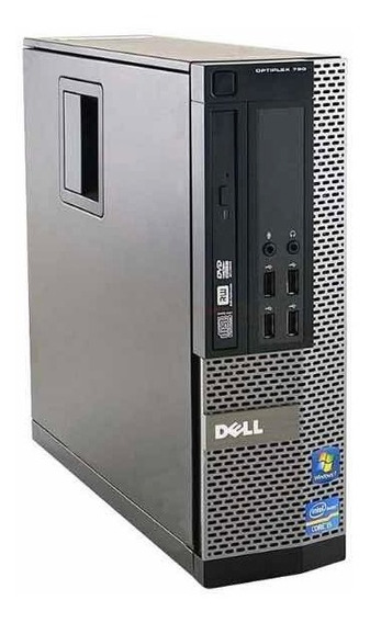 Pc Cpu Dell I7 8gb 500gb W10 Wifi Usb3.0 Vitrine 2 Monitores