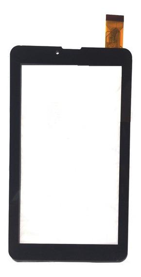 Tela Vidro Touch Tablet Genesis Gt 7326 Gt-7326 7 Pol Preta