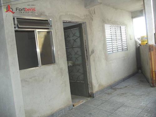 Casa Residencial Para Locação, Vila Lanfranki. - Ca0406