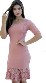 Vestido Moda Evangelica Com Mangas Roupas Femininas Barato