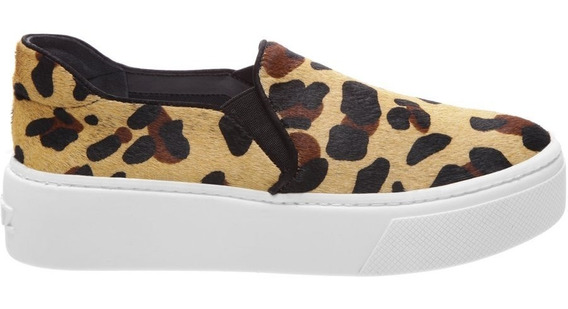 Tenis Schutz Slip On S-high Animal Print