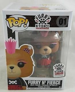 Funko Pop Furry N Fierce 01 Hottopic Build A Bear Excl