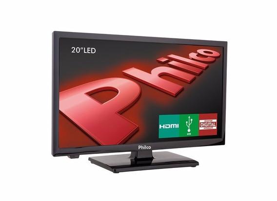 Tv Led 20 Philco Ph20u21d 2 Hdmi Usb Pc- Com Receptor Digita
