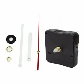 10 X Maquina Quartz 18 Mm P/relógio De Parede Branco