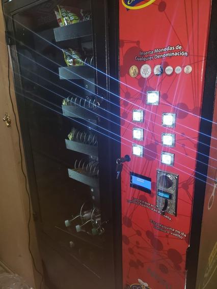 Maquina Expendedora De Snacks Y Bebidas Mixta No Refrigerada