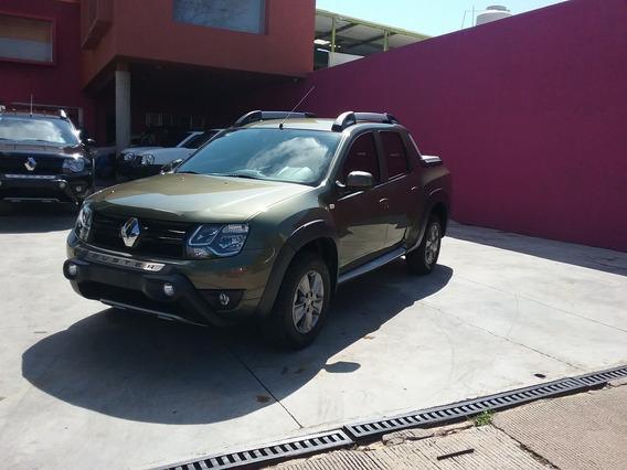 Renault Oroch 2.0 16v Outsider At 2019 Verde Amazona