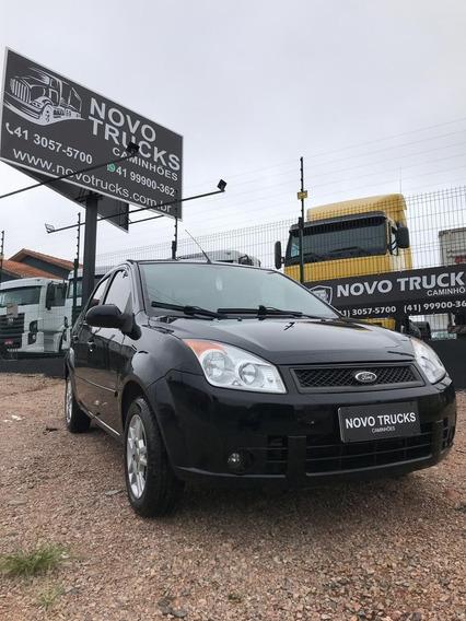 Fiesta Sedan 1.6 Flex Completo 10/10 Banco Em Couro