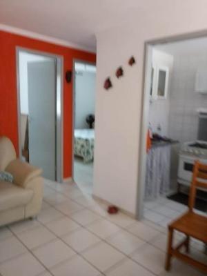 Apartamento Na Praia Com 2 Dorm 1 Wc E Área De 49m² 7463