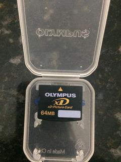 Cartão Olympus Xd 64g