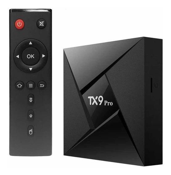 Aparelho Tanix Tx9 Pro 3g Ram. 32g Flash. Octa Core