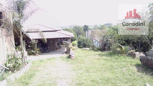 Chácara Com 3 Dormitórios À Venda, 1718 M² Por R$ 430.000,00 - Centro (tupi) - Piracicaba/sp - Ch0049