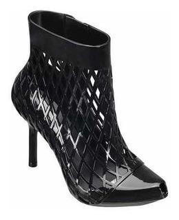 Melissa Jean Paul Gaultier Mesh Pump Ankle Boot 38