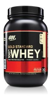 Whey 100% Gold Standard 900g - On + Shaker Brigadeiro