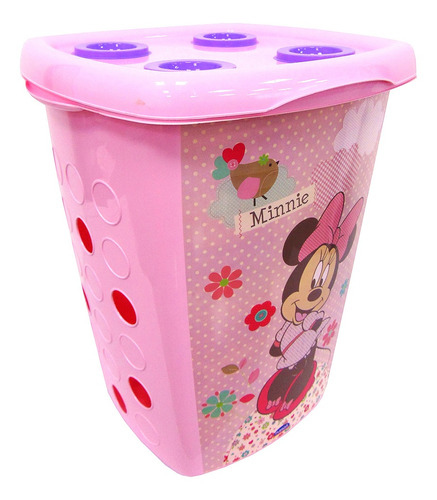 Cesto Organizador 38 Litros - Disney Mickey Y Minnie