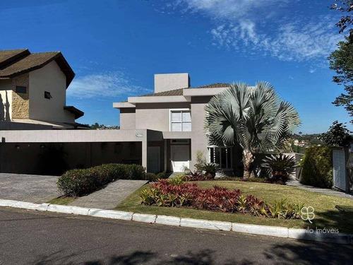 Casa Com 4 Dormitórios À Venda, 564 M² Por R$ 2.120.000 - Residencial Euroville - Granja Viana - Carapicuíba/sp - Ca1950