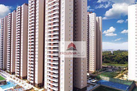 Apartamento Com 2 Dormitórios À Venda, 75 M² Por R$ 565.000 - Jardim Das Indústrias - São José Dos Campos/sp - Ap3276