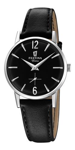 Reloj Mujer De Cuero Vintage Marca Festina F20254