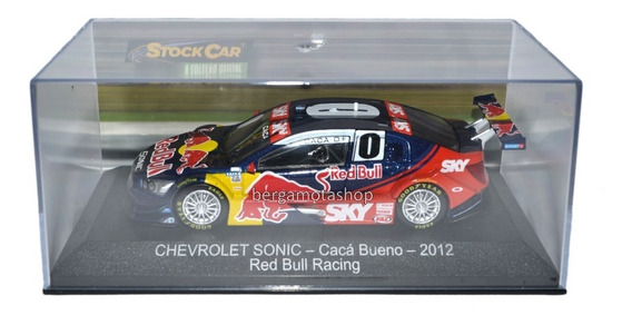 Miniatura Chevrolet Sonic Cacá Bueno 2012 1:43 Stock Car