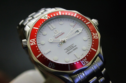 Omega Seamaster Diver 300m Co Axial Vancouver Olympic Games