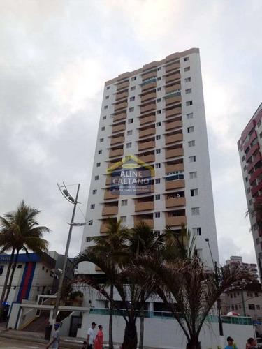 Imagem 1 de 30 de Apto Com 1 Dorm, Mirim, Praia Grande - R$ 190 Mil - Vact984
