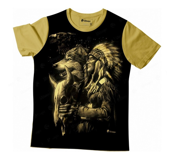 Camiseta Full Xamã - Umbanda/candomblé