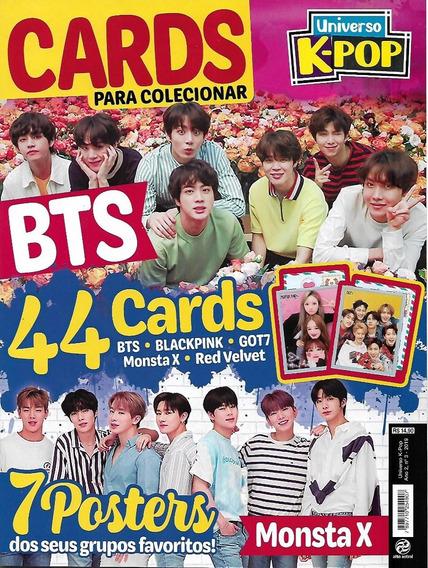 Revista Universo K-pop Cards Para Colecionar 3