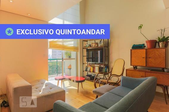 Apartamento No 4º Andar Com 2 Dormitórios E 2 Garagens - Id: 892961597 - 261597