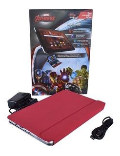 Tablet Nueva Laplet Marvel Avengers 9 Pantalla Hd C/office