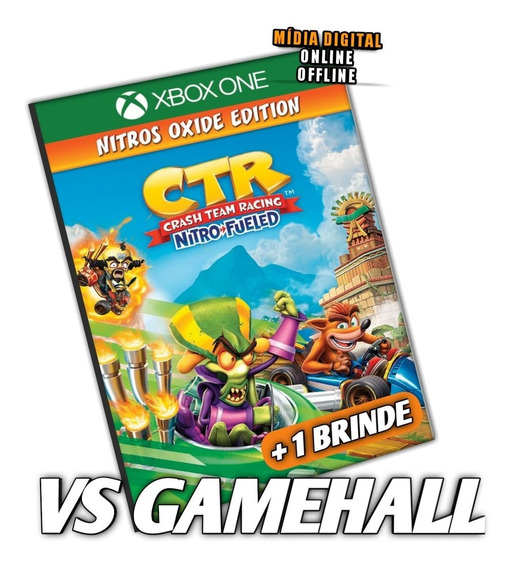 Crash Team Racing Nitro Fueled Xbox One Digital + Brinde