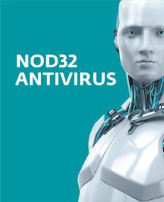Licença Original Eset Nod32 Antivírus 3pcs 1 Ano