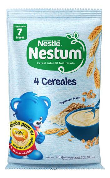 Nestum-270gr 4 Cereales Bolsa -(1 Pieza)