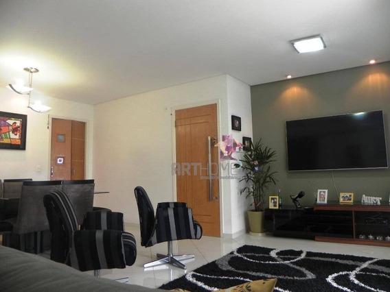 Apartamento À Venda, 103 M² Por R$ 680.000 (estuda Troca Apto Santos) - Vila Caminho Do Mar - São Bernardo Do Campo/sp - Ap1346