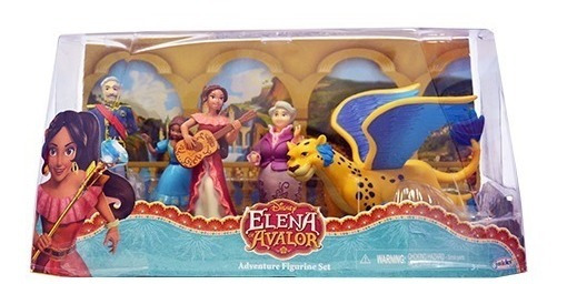 Disney Princesas Elena De Avalor Domo Set De Figuras Sunny
