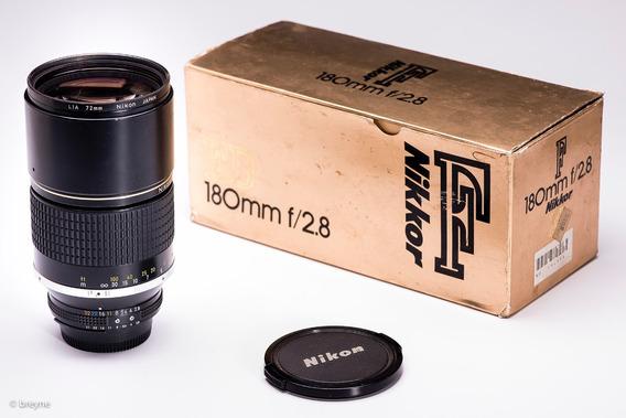 Objetiva Nikon 180mm F2,8 Objetiva Prime Ed