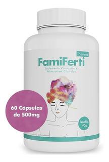 Vitamina Famiferti Famivita Pra Tentante Com 60 Cápsulas