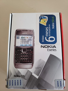 Celular Nokia E71 - Com Defeito Para Conserto/retirada Peças
