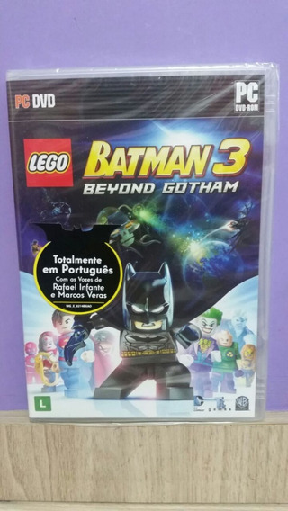 Lego Batman 3 Beyond Gotham Pc Game Original Lacrado