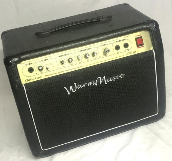 Amplificador Warm Music 208 Gt 60w Para Guitarra