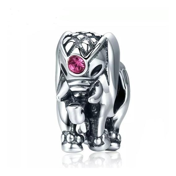 Charm Elefante 100% Plata S925compatible Con Pandora Envío