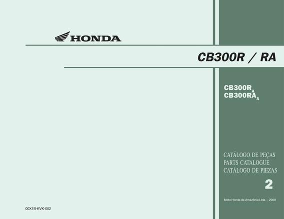 Catálogo De Peças Honda Cb300r Ra - Pdf