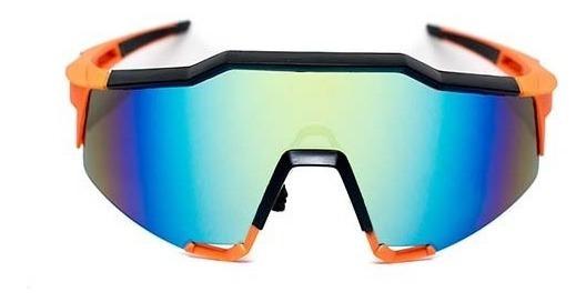 Lente Deportivo De Pasta Color Naranja, Glasses G3, Bp0128