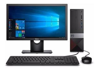 Pc Escritorio Dell Vostro Core I5 9100 8gb 1tb Dvdrw Led19