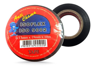 Fita Isolante Isoflex 19mm X 10m Anti Chama