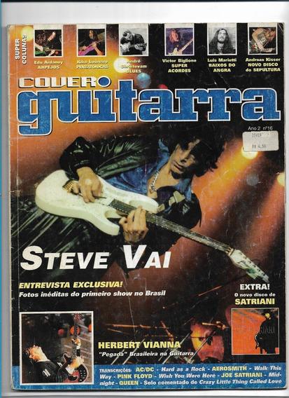 Cover Guitarra 16 Revista Steve Vai