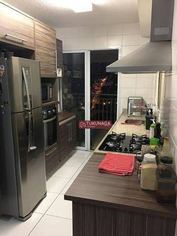 Apartamento Com 3 Dormitórios À Venda, 115 M² Por R$ 660.000 - Condomínio Alegria - Vila Santo Antônio - Guarulhos/sp - Ap3287
