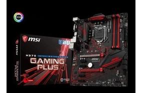 Placa Mãe Msi H370 Gaming Plus Rgb 8 Geração Atx