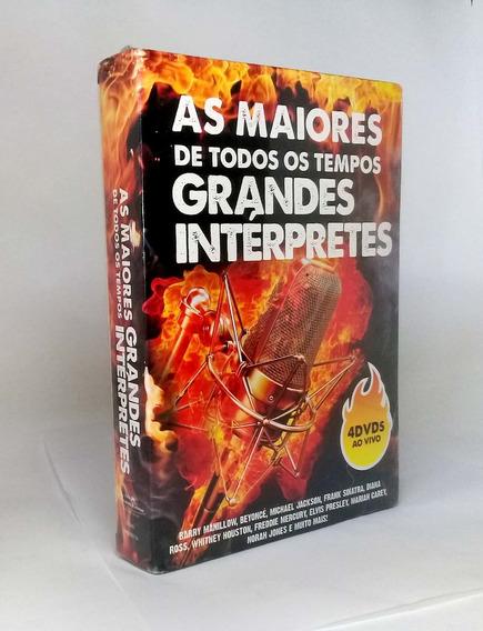 Box As Maiores De Todos Os Tempos Grandes Interprete Lacrado